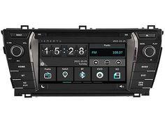 "Price - $243.80.ㅤㅤㅤ                7"" Car DVD Player GPS Radio Stereo for Toyota Corolla 2013-2017 NAVI 2DIN"