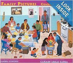 Este libro se trata de cuadros que dibujo el autor durante su vida. Ella describe cada cuadro. El libro ofrece muchos eventos familiares que pueden ser comunes para los estudiantes como la tamalada, las fiestas, tardes de sandilla y religión.