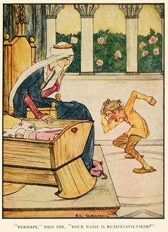 Детский иллюстратор Rie Cramer (1887-1977). Grimm's fairy tales (c1922)