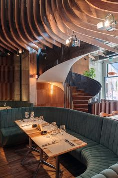 Restaurant Studio Hermes in Bucharest by Corvin Cristian