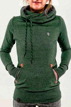Easy Does It Multi-color Hood Sweatshirt