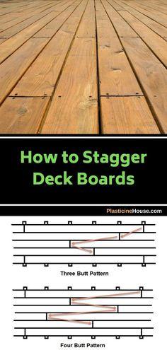Wood Deck Boards, Wood Deck Plans, Decking Planks, Laying Decking, Backyard Landscaping, Backyard Ideas, Deck Lumber, Deck Over Concrete, Deck Patterns