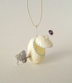 Silk Cocoons Pendant Contemporary Silk Cocoon Pendant With Star Ruby Raw Sapphire Cocoons Jewelry