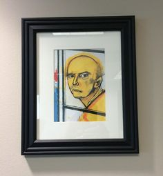 Artist with Alzheimer's Self Portraits Chronicle His Descent (2/8)