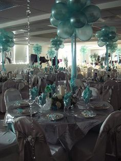 Ideas for balloon decor.