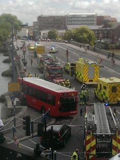 Putney Bridge bus crash: London bus left hanging over River Thames after slamming through bridge wall  https://www.facebook.com/cashadvancesolicitors/photos/a.1410695695861609.1073741828.1410170015914177/1437959586468553/?type=1theater