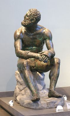 Rom, Museo Nazionale Romano alle Terme (Palazzo Massimo), Faustkämpfer (fist fighter) | Flickr - Photo Sharing!