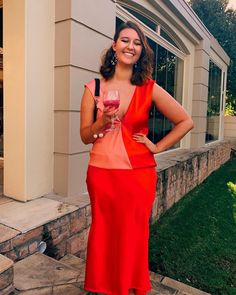 Prom red dress pink dress shoes formal end of year matric old Hollywood curls girl fashion Hollywood Curls, Old Hollywood, Pink Dress Shoes, Peplum Dress, Girl Fashion, Prom, Photo And Video, Formal, Dresses