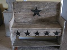 project from old barn wood | Barn Creations: Old Barn Wood Bench