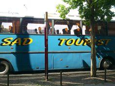 Sad Tourist Bus