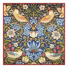 William Morris Strawberry Thief Orenco Originals Counted Cross Stitch Chart | eBay