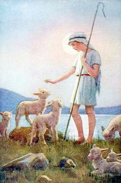 The Good Shepherd 99 Margaret Tarrant by Waiting For The Word, via Flickr