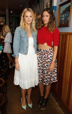 Paper Denim & Cloth and Baby2Baby Luncheon - Kelly Sawyer and Minnie Mortimer