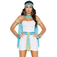 HUGE selection of Sexy and Fun Women and Couples Halloween Costumes! Egyptian Queen Costume Small S Women Sexy Halloween Egypt Nile Goddess Dress Sexy Adult Costumes, Couple Halloween Costumes, Halloween Kostüm, Halloween Outfits, Costumes For Women, Egyptian Goddess Costume, Egyptian Diy Costume, Goddess Halloween, Halloween Kleidung