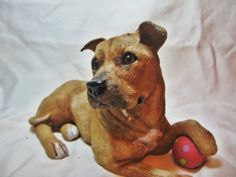 Custom sculpture of YOUR dog or pet with by arlissagreencreation