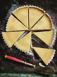 This recipe for Green Mango Curd Tart is in the tradition of the classic French tarts, with the added bonus of the health properties of this fruit, so dessert is not all bad! This will not be as smooth as a classic lemon tart, as the mango has some texture, and it will also be lighter as the filling is as much green mango as it is cream.