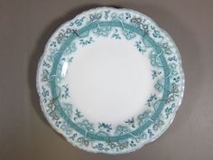 "Blue Mikado Salad Plate, 8-7/8"", $9.97 at the.china.cabinet on ebay Johnson Bros, Salad Plates, China Cabinet, Dinnerware, Decorative Plates, Dishes, Tea, Tableware, Blue"