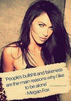 Megan Fox quote via www.Facebook.com/WildWickedWomen