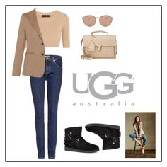 """""""Boot Remix with UGG : Contest Entry"""" by polychampion-805 ❤ liked on Polyvore featuring UGG Australia, Calvin Klein Collection, Yves Saint Laurent, Calvin Klein Jeans, MaxMara, Linda Farrow Luxe and uggaustralia"""