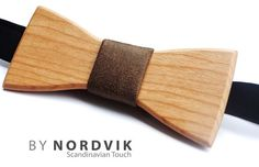 Wooden bow tie from Scandinavia