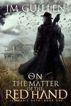 Cover artwork - On the matter of the Red Hand - by JM Guillen