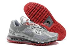 quality design 6ffcd 6bc2e Find Discount Nike Air Max 2015 Mesh Cloth Mens Sports Shoes - Silver Gray  Red For Sale online or in Pumacreeper. Shop Top Brands and the latest  styles ...
