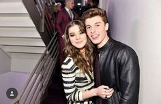 Hailee Steinfeld and Shawn Mendes