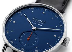 TimeZone : Industry News » N E W M o d e l s - NOMOS Glashütte Neomatik Nachtblau