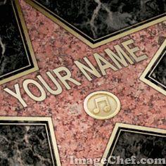 Walk of Fame - Customize This Template Video Editing, Photo Editing, Paul Michael Glaser, David Soul, Star Wars, Jordan Knight, Steve Perry, Roger Nelson, Nikki Sixx