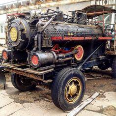 """ Steampunk vehicle """