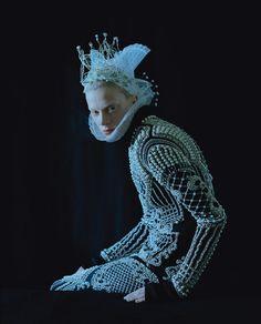 bohemea:  Kristen McMenamy: Dame of Thrones - W by Tim Walker, September 2012