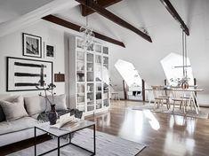 Dreamy Scandinavian attic studio   Daily Dream Decor   Bloglovin'