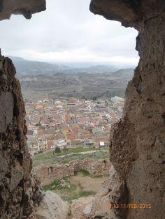 2015 wandeling Spanje , kasteel Jalance