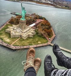 Statue Of Liberty New York  @robertahtflores #GoPro #NewYork #LifeApp by go.photography_
