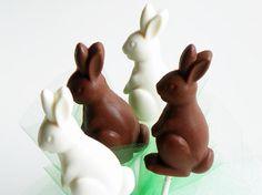 Chocolate Bunny - Rabbit Lollipop