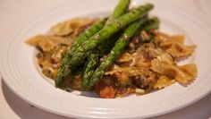 Pasta Olanda - recept | 24Kitchen asperges champignons andijvie
