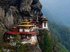Mosteiro Ninho do Tigre - Butão