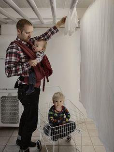 Ingemar Olsén, 37 años, Consultor de IT | Así es como lucen cuando a los hombres se les permite tomar licencias de paternidad de 480 días