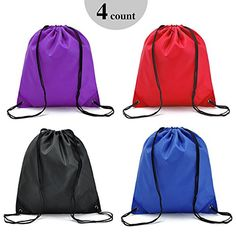 Sibba high quality waterproof Nylon Travel Shoe Tote Bags Set of 4 Multicolor >>> You can find out more details at the link of the image. (Note:Amazon affiliate link)