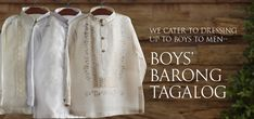 Organza Boy's Barong Tagalog Barongs R Us committed to offer qualitative and extensive range of original Barong suits, dresses, branded clothing, Barong Tagalog for men & Filipiniana dresses for women. Barong Tagalog, Filipiniana Dress, Philippines Fashion, Men Dress, Dress Up, Man Dressing Style, Stylish Boys, Line Shopping, Formal Looks