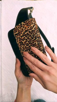 Hip Purse, Belt Purse, Hip Bag, Cute Fanny Pack, Leopard Nails, Leather Fanny Pack, Animal Print Fashion, Girl Humor, Leather Working