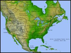 "Imaginary Borders : snopes.com ""Rather than showing the state of America prior to European colonization, this image is one author's idea of what America might look like today if Europeans had never colonized it."""