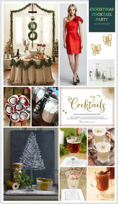 found this while looking for wedding things. sorry guys. REVEL: Christmas Cocktail Party