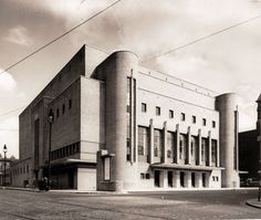 Liverpool Philharmonic Hall, 1939, designed by architect Herbert J. Rowse
