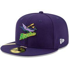 Louisville Bats New Era Anniversary Patch Fitted Hat – Purple Louisville Bats, New Era Fitted, Minor League Baseball, New Era 59fifty, New Era Cap, Snapback Cap, Patches, Baseball Hats, Anniversary