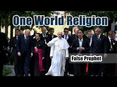 WARNING: Pope Francis Calls For One World Religion! Calling Jesus A 'Failure' - Published on Sep 28, 2015  A False Prophet Pope Francis is calling for One World Religion to bring all religions together. Pope says Jesus life ended in failure on the cross! What a blasphemy!