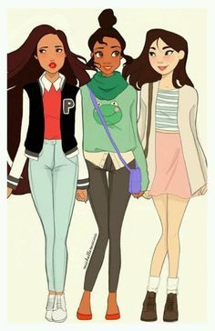 disney princesses in middle school - Google Search