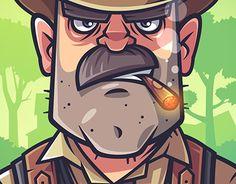 Mafia (party game) #behance #design