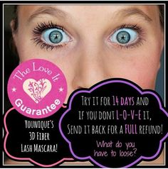 Want to try our 3D Mascara but a little worried about the cost? True, it's $29, BUT it lasts 8-12 wks. not only that, but we have a Love It guarantee. If you don't like it send it back for a refund. Don't wait! This MAGIC MASCARA will be you new best friend! www.AmpUpYourLashes.com