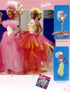 Eat your heart out, Lady Gaga. Barbie was rocking crazy outfits when you were still wearing Oshkosh B'Gosh. | The 19 Most Ridiculously Awesome Things About This 1991 Barbie Catalog